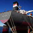 Постер, плакат: Bulk carrier from Hong Kong