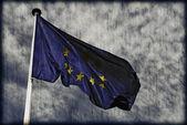 Vintage drapeau du groenland — Photo