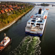 Kiel Canal cruise — Stock Photo