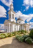The funerary God's Mother Icon Church. — Стоковое фото