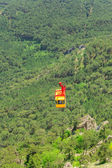 Ropeway in Yalta leading to the top of Ai-Petri mountain, Crimea. Ukraine — Stock Photo