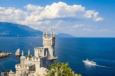 Swallows Nest Castle — Stock Photo