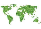 мир травы — Cтоковый вектор