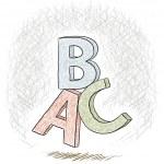 Постер, плакат: Letters ABC
