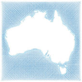 Map of Australia — Stock Vector