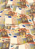 50 euros — Vector de stock