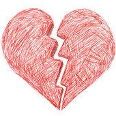 Corazón — Vector de stock