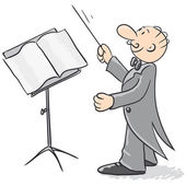 Conductor — Stock Vector