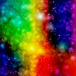 Bright colorful cosmic background — Stock Vector #21260125