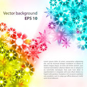 Colorful abstract multicolor banner — Stock Vector