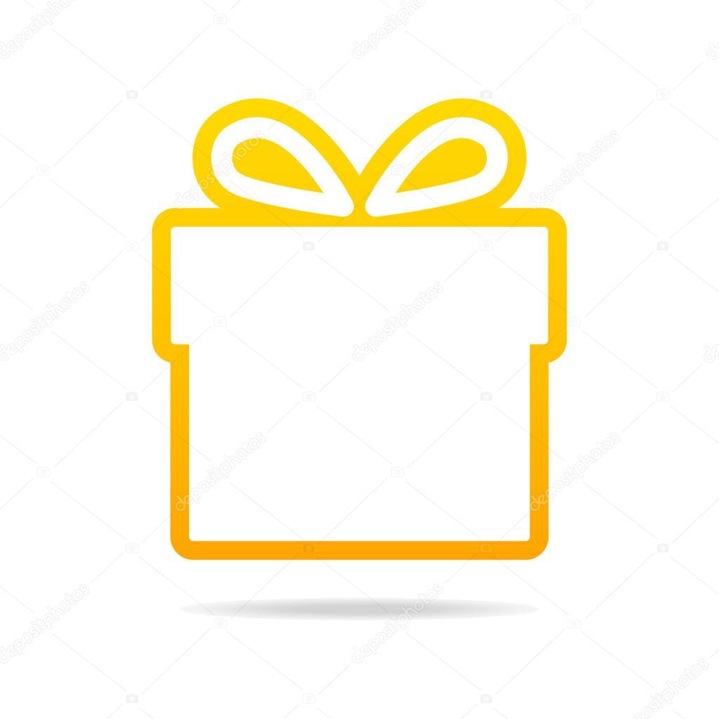 Gift Icon Gift icon - stock illustration