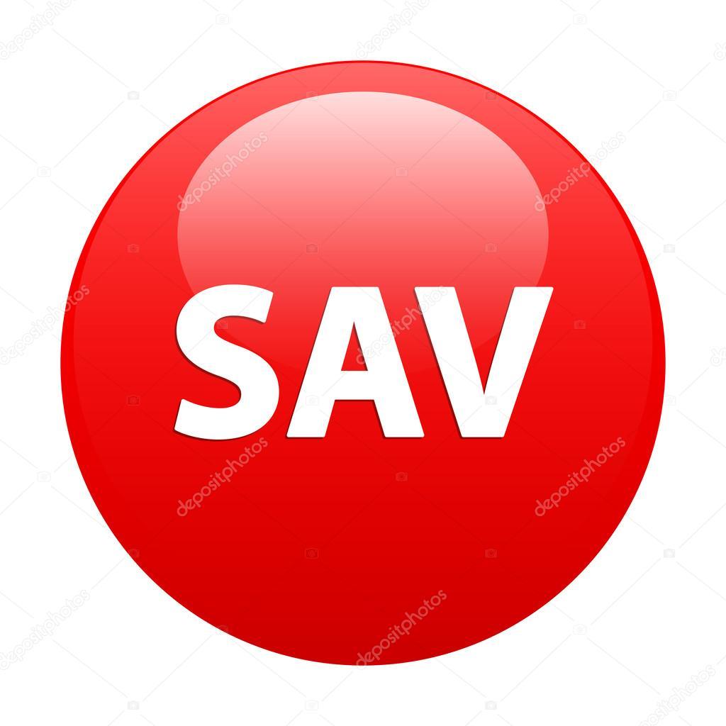 Bouton internet sav service apr s vente rouge image - Www coffee sav fr ...