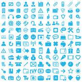Graphic icon business set button — Vettoriale Stock