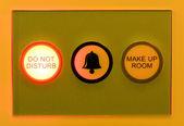 Please do not disturb sign — Stock Photo