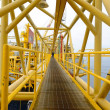 Stock Photo: Offshore oil rig.