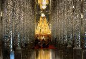 U-THAITHANI,THAILAND-JUL 11: Interior of Thai church on JUL 11,2 — Photo