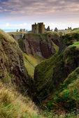 Dunnottar Castle in Aberdeen, Scotland. — Stock Photo