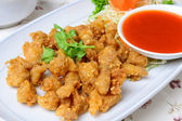 Deep fried chicken tendon — Stock Photo