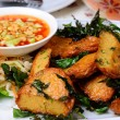 Fried Fish Cake (Tod Mun Pla) — Foto Stock