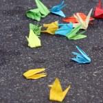 Постер, плакат: Origami cranes