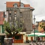 Cetinje main street — Stock Photo