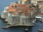 Panorama of Dubrovnik — Stock Photo