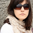 Woman in sunglasses — ストック写真