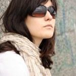 Woman in sunglasses — Stock Photo #13883253