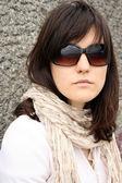 Woman in sunglasses — Foto de Stock