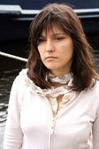 Young sad woman — Stock Photo