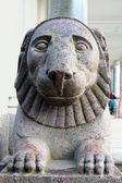 Lion de pierre — Photo