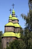Ahşap kilise — Stok fotoğraf