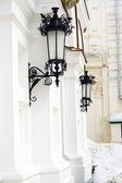 Wrought lanterns — Stock Photo