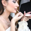 bridal makeup — Stock Photo