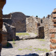 Stock Photo: Inside view of premises of Pompeii