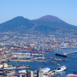 Stock Photo: Vesuvius and Naples at his feet