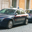 Cars ItaliCarabinieri in Rome — Stock Photo #12070536