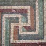 Mosaics from the fountain of a Roman villa — Stock Photo #12070546