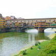 View of bridge Vecchio in Florence — Stock Photo #12070593