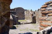 Inside view of the premises of Pompeii — Stock Photo