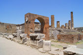 古代ポンペイの宮殿の遺跡 — ストック写真
