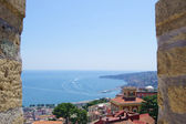 Neapolitan Bay - view from the mountain — Stock Photo