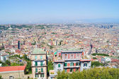 View of the city of Naples from the top — Stock Photo
