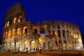 Evening view of the Coliseum — Stock Photo