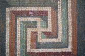Mosaics from the fountain of a Roman villa — Stock Photo