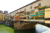 Bridge Vecchio in Florence — Stock Photo