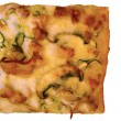 Stock Photo: A square piece of pizza