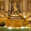 The Trevi Fountain in Rome - Stock Photo