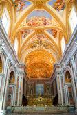 Monastery church in Naples — Стоковое фото