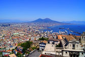 Naples and Mount Vesuvius — Stock Photo
